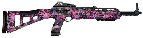 "Hi-Point 45 ACP Carbine, 17.5"", 9rd, Pink Camo Finish"