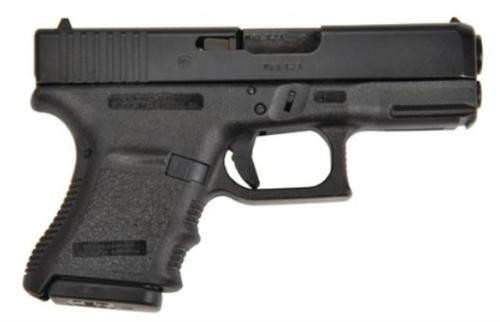 "Glock G29SF Standard 10mm 3.78"" Barrel, Fixed Sights Poly Grip/Frame Black, 10rd"