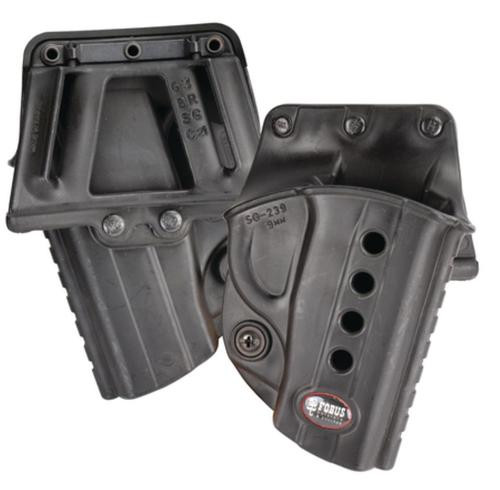 Fobus Evolution 2 Belt Glock 17/19/22/23/26/27/33/34/35, Black, Right Hand