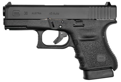 "Glock G36 45 ACP 3.78"" Barrel Fixed Sights, Rail 6 Rd Mag"