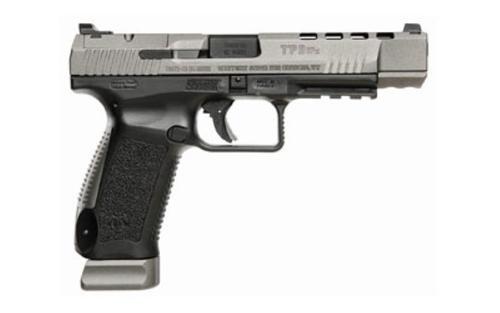 "Canik TP9SFx 9mm, 5.2"", Black Polymer Frame, Black, 20 rds"