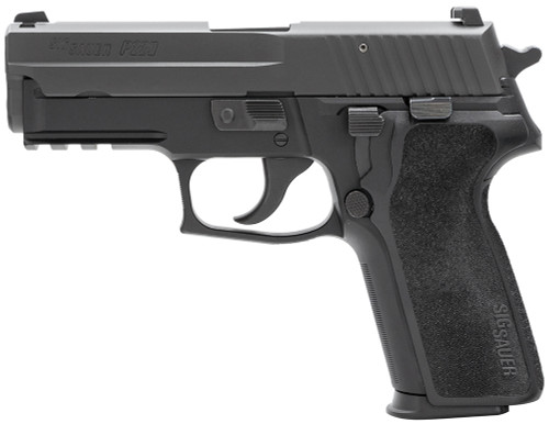 "Sig P229 *CA Compliant* 9mm, 3.9"" Barrel, Night Sights, No Thumb Safety, Black, 10rd"