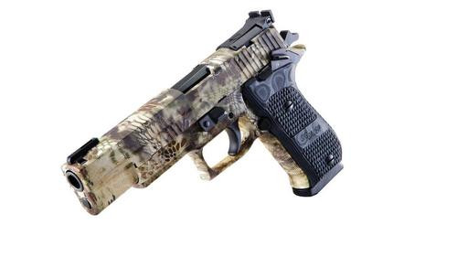 "Sig P220 Elite 10mm Stainless, Kryptec Camo, 5""., ,  8 rd"