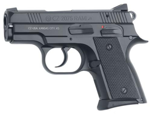 CZ 2075 Rami 9mm 3,  Black Rubber Grip Matte Black,  10 rd