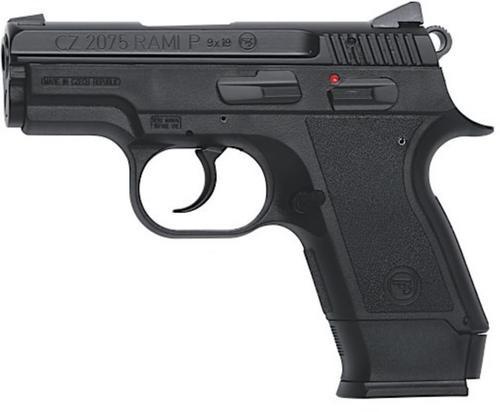 CZ 2075 RAMI 9mm, Black Alloy, 10rd & 14rd magazine