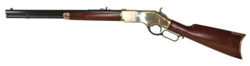 "Cimarron 1866 Yellowboy Short Rifle .45 Colt 20"" Barrel Standard Blue Finish Brass Frame 10rd"