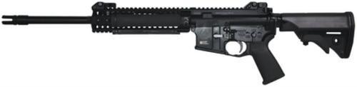 """LWRC M6.8-SPR 6.8mm SPC 16"""" Barrel, Modular M6 9 Inch Rail, MOE+ Grip Black 30 Rd Mag"""
