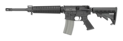 "RRA LAR-15LH A4 Mid Gas Sys AR-15 SA 223/5.56 16"" Barrel, 6 Pos Stock Black, 30rd"