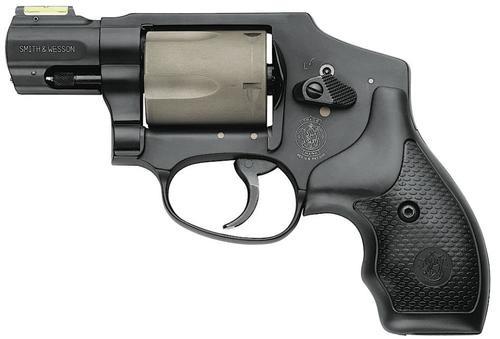 Smith & Wesson 340 PD 357 Mag 1.87: Barrel, Scandium Frame, Hiviz Sight