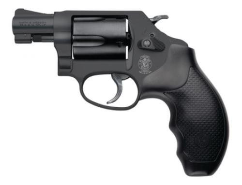 "Smith & Wesson Model 437 .38 Special +P, 1.875"", Matte Black, Combat Grip, 5rd"
