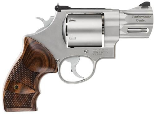 "Smith & Wesson 629 Performance Center .44 Mag 2.63"" SS Barrel Matte Finish Adjustable Rear Sight Wood Grip 6 Round"