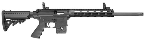 "Smith & Wesson M&P 15-22 Sport Performance Center 22LR 18"" Vltor Stock MBUS Sights 10rd Mag"
