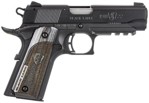 "Browning 1911-22 Comp Black Label Laminate 22LR 3.6"" Barrel, Rail Black, 10rd"