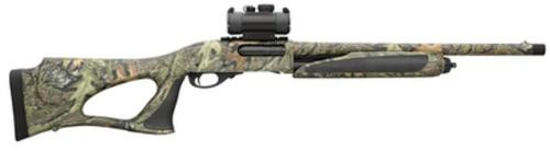 "Remington 870, Special Purpose Synthetic Super Magnum, Pump, 12 Ga, 3.5"" Chamber, 20"" Barrel, Mossy Oak Obsession Camo Finish, Thumbhole Stock, 3Rd, TruGlo Red Dot Sight"