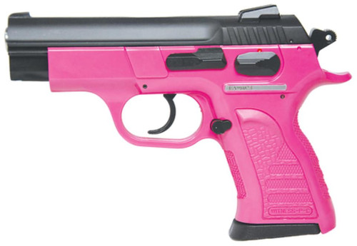 "Tanfoglio Witness P Compact 9mm 3.6"" Barrel Blue Finish Pink Polymer Frame 12rd"