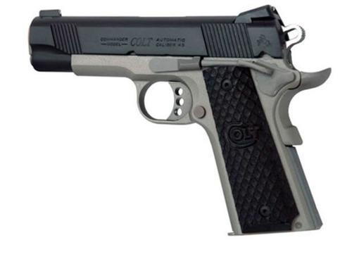 Colt Elite Commander 45 ACP, Two Tone
