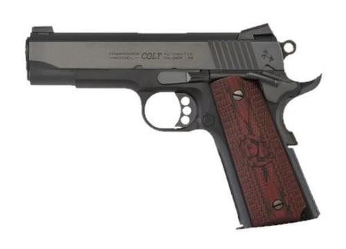 "Colt LW Commander .45 ACP, 4.25"" Barrel, Novak Sights, G10 Grips, Blued, 8rd"