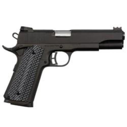"Armscor, Rock Island 1911, Full Size Pistol, 45ACP, 5"" Barrel, Alloy Frame, Parkerized Finish, G10 Grips, Adjustable Sights, 8Rd"