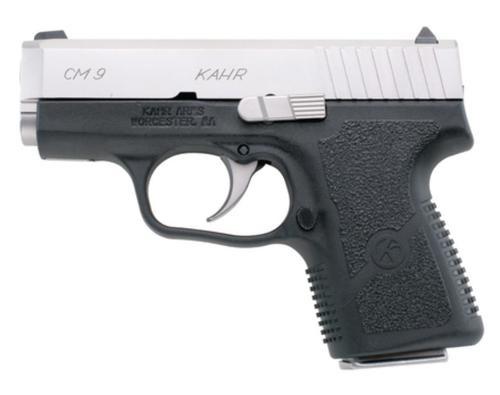"""Kahr CM9 Pistol, (3.0"""" Barrel) Black Polymer Frame, Matte Stainless"""