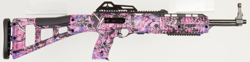 "Hi-Point Model 3895 Carbine .380ACP 16.5"" Barrel Pink Camo BlackPolymer Target Stock Adjustable Sights 10rd"