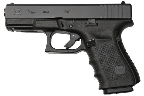 "Glock G19 Compensated G4 9mm, 4"" Barrel, Fixed Sights, Tennifer, 15rd"