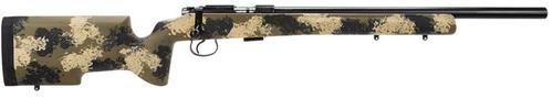 CZ 455 Varmint Precision Trainer .22LR 20.5 5 Round Mag Manners Camo Composite T4 Stock
