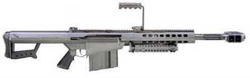 "Barrett 82A1 CQ .50 BMG 20"" Barrel W/10 Round Mag & Accessories"