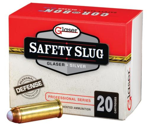 Silver Safety Slugs 9mm +P 80gr, 20rds Per Box