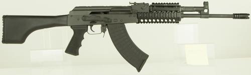 """Interarms AKM247T AK-47 Rifle SA 7.62X39 16.3"""" Barrel, Synthetic Black Stock Black, 30rd"""