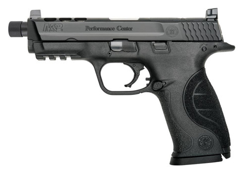 """Smith & Wesson M&P9 Perfomance Center 4.3"""" Ported Threaded Barrel 17rd Mag"""