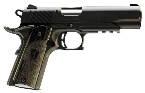 "Browning 1911-22 A1 Black Label Laminate 22LR 4.25"" Barrel, Rail Black, 10rd"