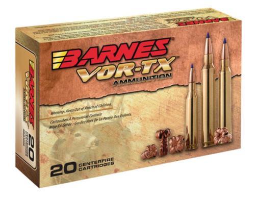 Barnes VOR-TX .300 Win Short Magnum 165gr, Tipped Triple Shock X-Bullet Boattail, 20rd Box