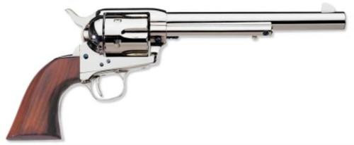 Uberti 1873 Cattleman New Model 45 Colt Polished Nickel 7 1/2