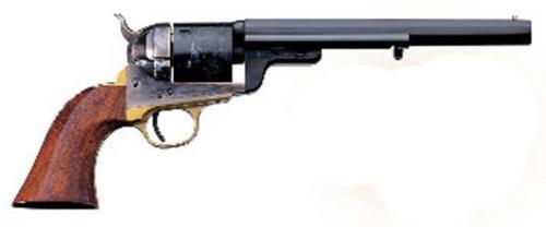 """Uberti 1851 Navy Model Revolver, .38 Special, 4.75"""", Walnut Grip, Brass"""