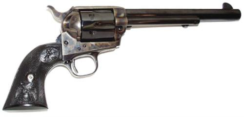 """Colt Single Action Army Peacemaker Single 357 Mag, 7.5"""", Black Composite Grips, 6rd"""