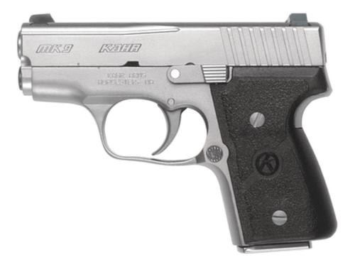 """Kahr MK9, Stainless Steel 3"""" with Night Sights"""