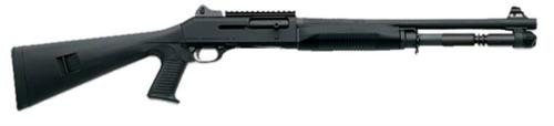"Benelli M4 12 Ga, Pistol Grip, Ghost Ring Sights, 18.5"" Barrel"