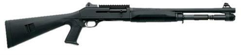 "Benelli M4 12 Ga, 18.5"" Barrel, Pistol Grip, Ghost Ring Sights, Black"