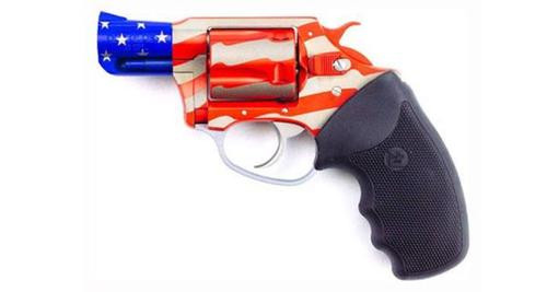 "Charter Arms Old Glory, .38 Special, 2"" Barrel, 5rd, Red/White/Blue Finish"