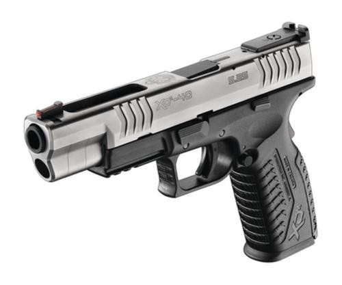 "Springfield XDM-5.25 Competition 40SW 5.25"" Barrel, Fiber Optic Sight, Bi-Tone 16 Rnd Mag"