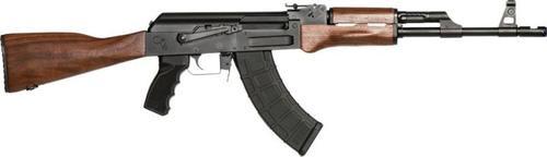 "Century Arms, C39v2 762X39, 16.5"", Walnut Stock, Side Scope Mount Rail, 1 Mag, 1:10, 30Rd"
