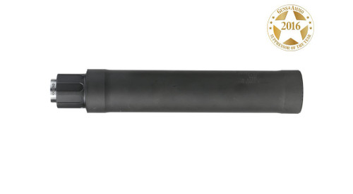 Sig SRD9 Suppressor, 9mm, 2x Pistons, 1/2x28 TPI & 13.5x1 LH, Black