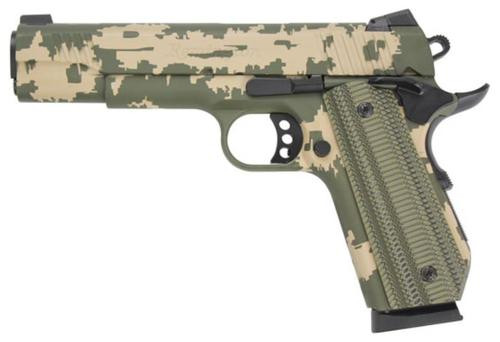 "Remington Custom Shop 1911 R1 Enhanced Commander 45 ACP 4.25"" Barrel, Bobtail Grip, Cerakote 2 Color"