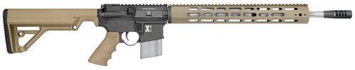 """Rock River Arms LAR-300 X-Series SA300 ACC 18"""" Barrel, Tan Stock Black Rec, 30rd"""