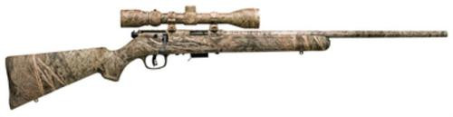 Savage Model 93R17 Package .17 Hmr 22 Inch Barrel Synthetic Stock 5 Round Includes Factory Installed 3-9X40mm Simmons Scope Full Coverage Mossy Oak Brush Camouflage Finish
