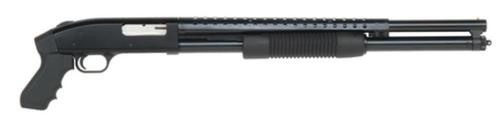 "Mossberg 500 Tactical Pump 12 Ga 20"" 3"", Synthetic Pistol Grip Blac, 7rd"