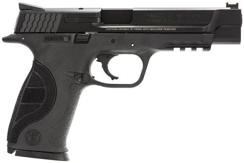 "Smith & Wesson M&P 9 Pro Series 9mm 5"" Barrel, Fiber Optic Sights 17 Rd Mag"