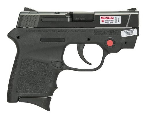 Smith & Wesson M&P Bodyguard .380 ACP, 6rd, Crimson Trace Laser, No Thumb Safety