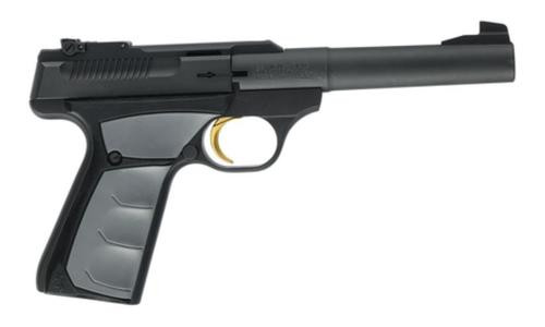 "Browning Buck Mark Camper UFX .22LR 5.5"" Tapered Bull Barrel, UFX Ambidextrous Grips 10 Rd Mag"