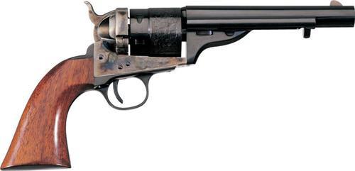 "Uberti 1860 Army Model Revolver, .38 Special, 5.5"", Walnut Grips, Blued"